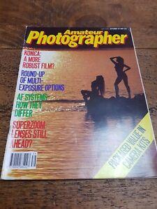 Vintage Photography Magazine - Amateur Photographer September 30th 1989
