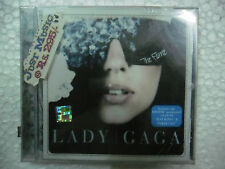 Lady GaGa The Fame CD 2009 just dance poker RARE TAJ INDIA HOLOGRAM NEW sticker