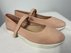 Easy Spirit Women's Secacia Shoes, Pink Suede, Size 10M NWOB