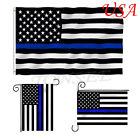 New Black White And Blue US USA American Stars Stripes United States Garden Flag