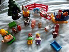 Farm animal + Christmas tree + Figures Playmobil 1.2.3