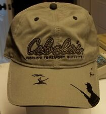 Cabela's Worlds Foremost Outfitter Hat Cap Hunting Duck Hunt Hat Headwear