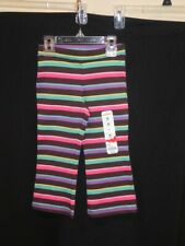 Nwt-Toddler Girl's Striped Pull-on Pants Sz 2T