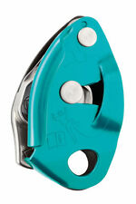 BELAY DEVICE ASSICURATORE DISCENSORE GRIGRI 2new Turquoise PETZL ALPINISMO