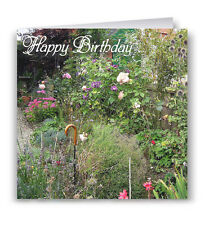 Pack of 6 Cottage Garden Birthday Cards - Flowers