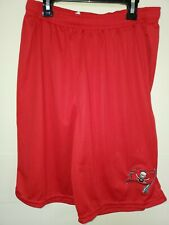 0724 Mens NFL TAMPA BAY BUCCANEERS Polyester Jersey SHORTS Embroidered Red