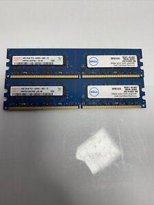 2x Hynix HMP351U6AFR8C-S6 PC2 6400U DDR2 800 4GB Non-ECC 1.8V 240 Pin DDR2