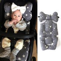 Soft Baby Kid Stroller Pram Pushchair Car Seat Liner Pad Mat Cushion Washable UK
