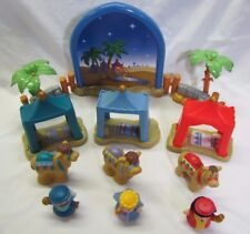 New! Fisher Price Little People THE THREE WISE MEN Wisemen BETHLEHEM NATIVITY