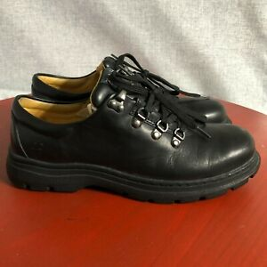 Timberland Classic Womens Size 9M Shoes Black Lace Up Comfort Leather Ankle Boot