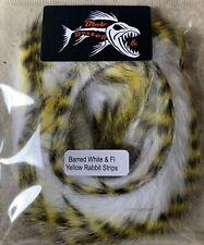 Barred White & FL Yellow Rabbit Strips 3mm