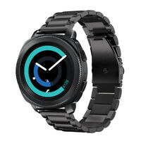For Samsung Gear Sport / Gear S2 Classic Bands Stainless Steel Bracelet Strap