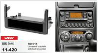 CARAV 11-420 2Din Marco Adaptador Kit Instalacion de Radio TOYOTA Universal