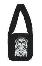 Slayer White Skulls Fashion Fabric Shoulder Tote Bag New Official Band Merch