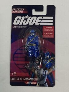 2021 HASBRO G.I. JOE MINI FIGURE SINGLE COBRA COMMANDER NEW LIMITED EDITION