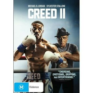 Creed II (DVD, 2019) NEW AND SEALED