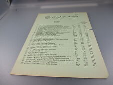 Delphin:Schiffs- Preisliste 1974 (GK73)