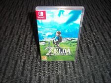 ZELDA:BREATH OF THE WILD: EMPTY Replacement Nintendo Switch Game Case.REPRO ART