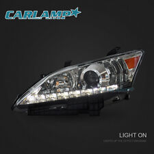 2010-2012 Lexus ES350 LED Headlights DRL H/L Beam Front Lamps Assembly Set(2)