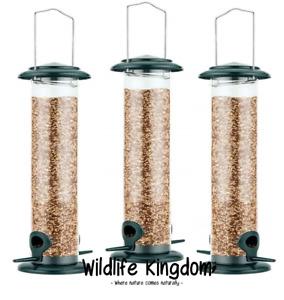 ✔ 3 x Deluxe Heritage Wild Bird Hanging Large Seed Feeder Garden Feeders 39cm ✔
