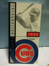 (18) 1996 CHICAGO CUBS OFFICIAL GUIDE MEDIA - 288 PAGES