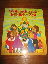 (E433) KINDERBUCH WEIHNACHTSZEIT-FRÖHLICHE ZEIT FELICITAS KUHN PESTALOZZI 1992