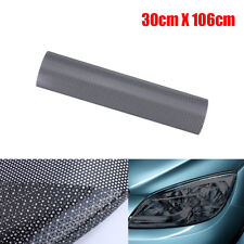 106cm X 30cm Headlight Film Mesh Like Fly Eye MOT Legal Tinting Tint Perforated