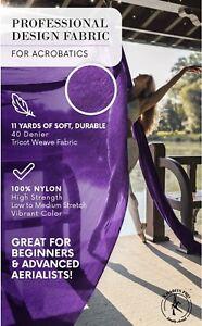 Aerial Silk Yoga Swing 11 Yards Trapeze Antigravity Pilates Gym Circus Kit