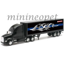 NEW RAY 10273 A KENWORTH T700 SEMI TRUCK with GRAPHICS ON CONTAINER 1/32 BLACK