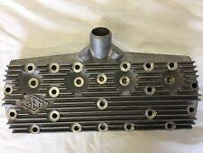 Pair Ford Flathead V8 21 Stud Cylinder Head (like Allard) Inc Spark Plugs Hotrod