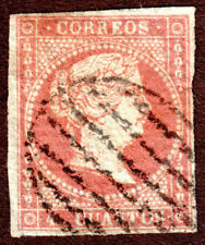 Spain  37 4c Brown Red  Queen Isabella II used H