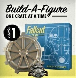LootCrate FALLOUT CRATE Power Armor Build-A-Figure BASE/HELMET 1 of 6 SEALED!