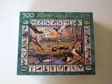"""Jigsaw Puzzle -  """"WINGS OF NATURE"""" -  by American Expedition  - 500 Pcs. -  2012"""
