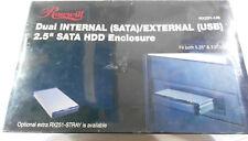 "NEW! ROSEWILL RX251-US INTERNAL(SATA) /EXTERNAL (USB) 2.5"" HARD DRIVE ENCLOSURE"