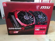 MSI Gaming AMD RX 570x 4G 4GB di memoria a bit GDDR5DVI/DP/HDMI (i6D)