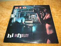 "REO Speedwagon 1980 ""hi infidelity"" vinyl record Epic FE 36844 1980"