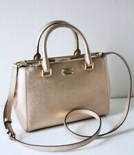Michael Kors Leather Bag/ Bag Kellen XS Satchel Rose Gold