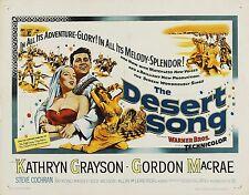 The Desert Song 1953 16mm Musical Beautiful LPP Print Kathryn Grayson