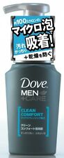 DOVE - MEN +Care CLEAN COMFORT Foam Facial Cleanser - 130ml F/S From Japan