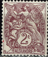 France Office in Alexandria Egypt 1900 classic stamp MLH 2C