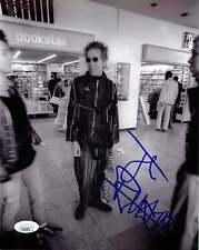 John Lydon Johnny Rotten Signed SEX PISTOLS 8x10 Photo EXACT Proof JSA C