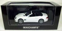 MINICHAMPS 1/43 - 400 036170 MERCEDES BENZ SL 55 AMG 2007 - WHITE