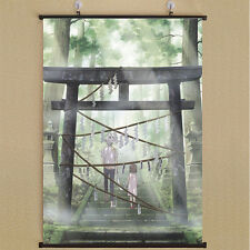 Hotarubi No Mori E  The Light Of A Firefly Forest Poster Wall Scroll 40*60cm