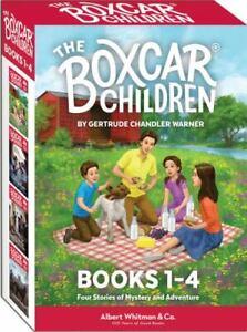 The Boxcar Children Books 1-4 .. NEW