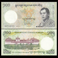 BHUTAN  1000  NGULTRUM  2016  P.36   Uncirculated  Prefix W