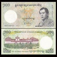 Bhutan 100 Ngultrum Banknote, 2011/2015, P-32, UNC, Asia Paper Money