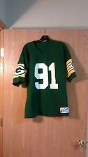 Rare Green Bay Packers Brian Noble Champion Jersey Adult M/L