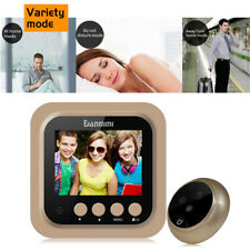 "2.4"" Inch Smart Door Bell WiFi Visual Night Vision Camera Home Monitor Security"