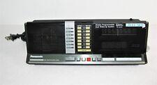 Panasonic RC-6510 Dual Alarm Clock AM FM Radio Weekly Programmable