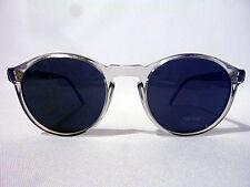 Unisex P3 Round Sunglasses in Light Blue 55-24 Uv400 Lenses - Nos